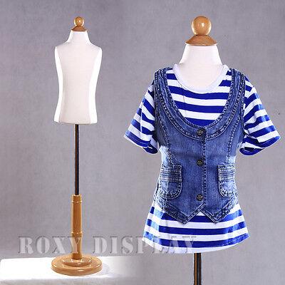 Child Mannequin Manequin Manikin Dress Form Display C2t