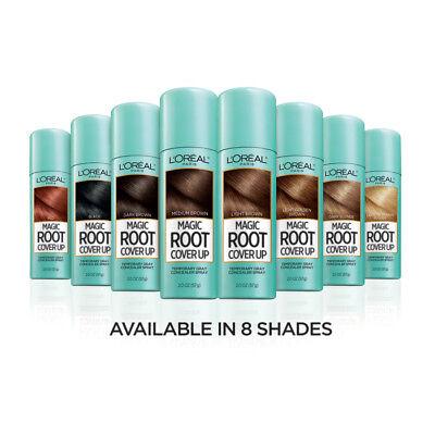 LOreal Paris Magic Root Cover Up Gray Concealer Hair Spray (Spray Color Hair)