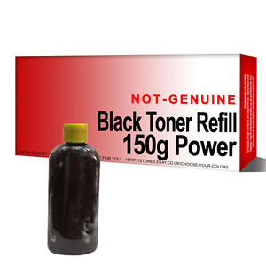 1x Black Toner Refill Kit for Brother Laserjet 150g