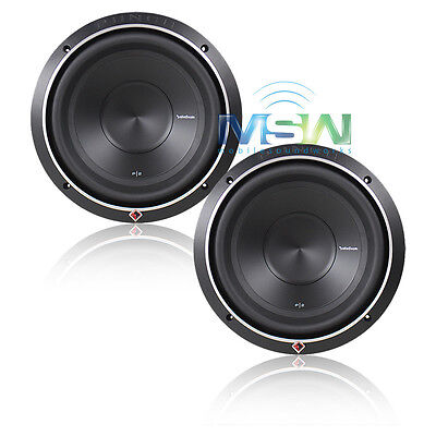 """(2) ROCKFORD FOSGATE® P2D2-10 PUNCH-SERIES 10"""" 1200W CAR AUDIO SUBWOOFERS *PAIR* for sale  Shipping to India"""