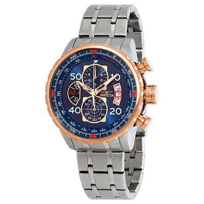 Invicta Aviator Chronograph Blue Dial Men's Watch 17203