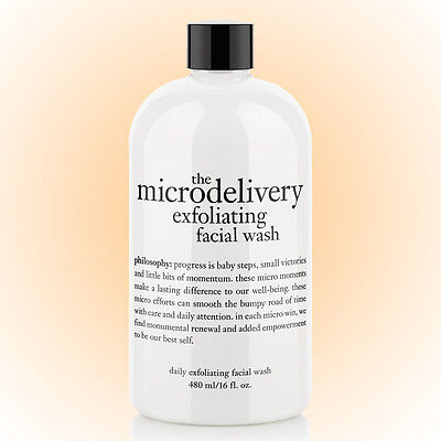 Philosophy Microdelivery Exfoliating Facial Wash 16 OZ. New