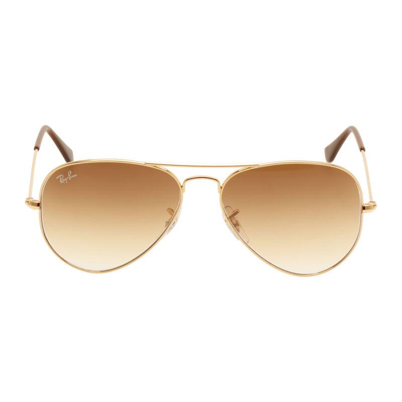 Ray Ban Original Aviator Brown Gradient Sunglasses RB3025 001/51 55