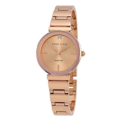 Anne Klein Rose Dial Ladies Watch 2434RGRG