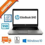 HP Elitebook 840 G1 Core i5 | 256GB SSD | 8GB | 14"