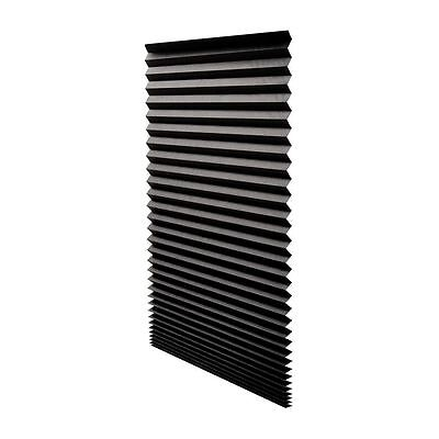 Redi Shade  Paper Window Blinds Black Out Pleated 36 x 72 in Inch NEW