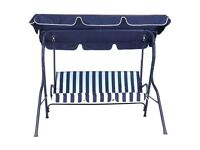 NEW 3 Seater Hammock Cushioned Swing Chair Outdoor Bench Seat