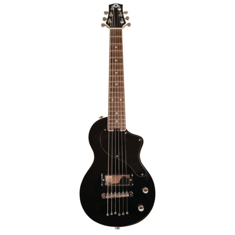 Blackstar Carry-On Electric Travel Guitar w/Gigbag - Black, New!