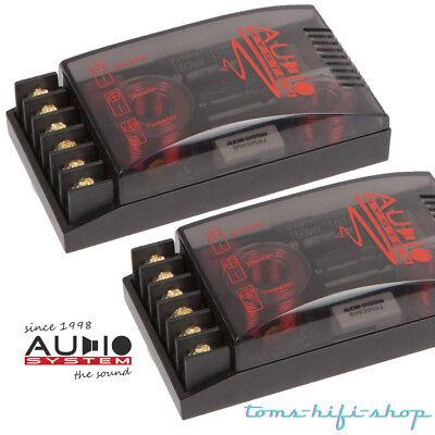Audio System FWR 2-Wege Auto Lautsprecher Frequenzweiche 12dB 9fache An. 2 4 Ohm