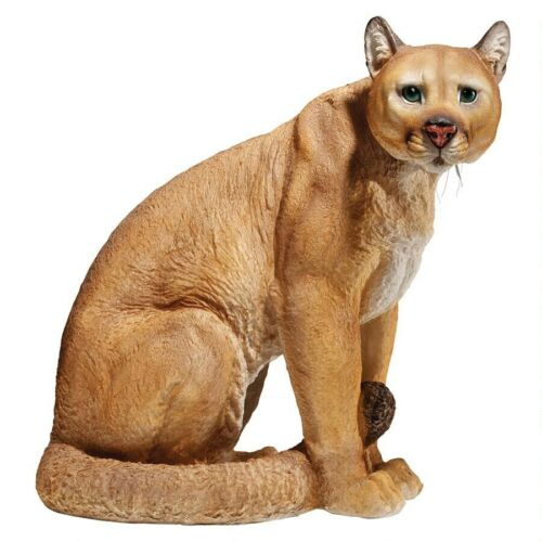 Puma Predator Cougar Mountain Lion Garden Feline Statue