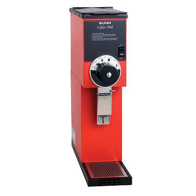 Bunn 22102.0001 2lb Bulk Coffee Bean Grinder Red