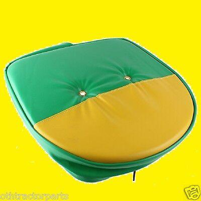 Universal Mower Farm Tractor Cushion Seat Cover Green Yellow John Deere T295gy