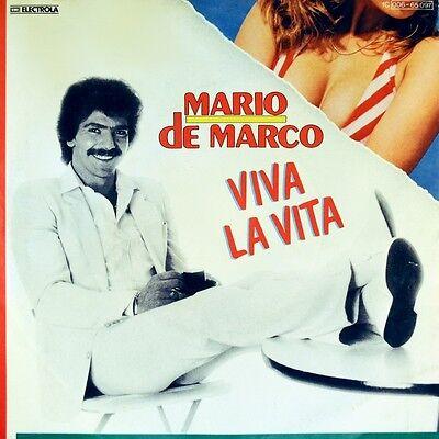 """7"""" MARIO DE MARCO Viva La Vita / La Musica COLUMBIA 45rpm orig. 1983 NEUWERTIG!"""