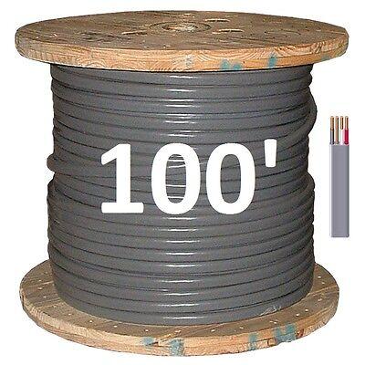 6/3 UF (100') (Underground Feeder / Direct Burial), Copper, 4 Wire/Cable