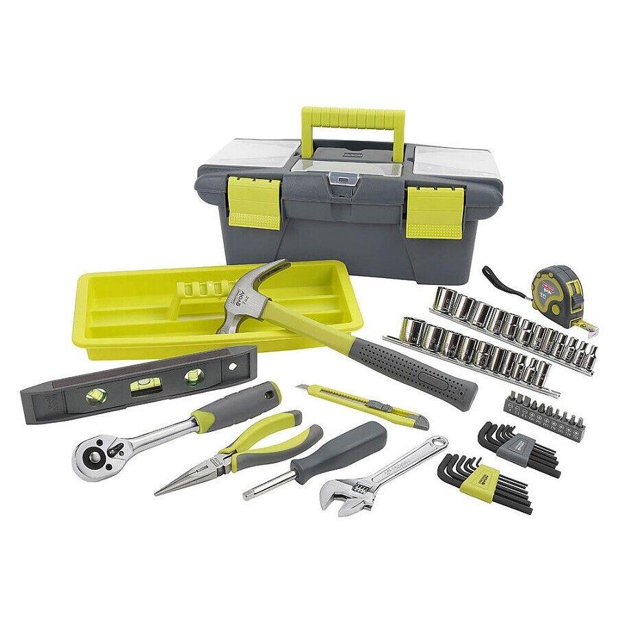 CRAFTSMAN 52 pc piece Homeowner Evolv Tool Set with Box - 01