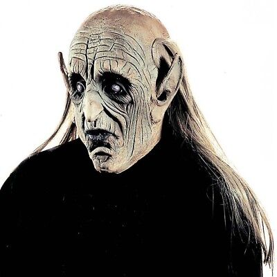 ALTER MANN MASKE # Halloween Karneval Zombie Opa Horror Kostüm Party Deko 8315-1 ()