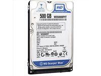 """Western Digital Scorpio Blue WD5000BPVT 500gb 2.5"""" Sata"""