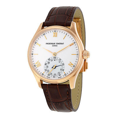 Frederique Constant Rose Gold Plated Stainless Steel Mens Watch Fc 285V5b4