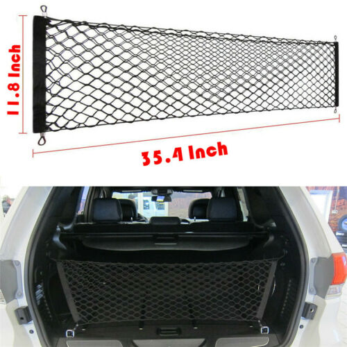 Car Parts - Car Trunk Cargo Net Elastic Fold Envelope Style Universal Car Parts Accessories