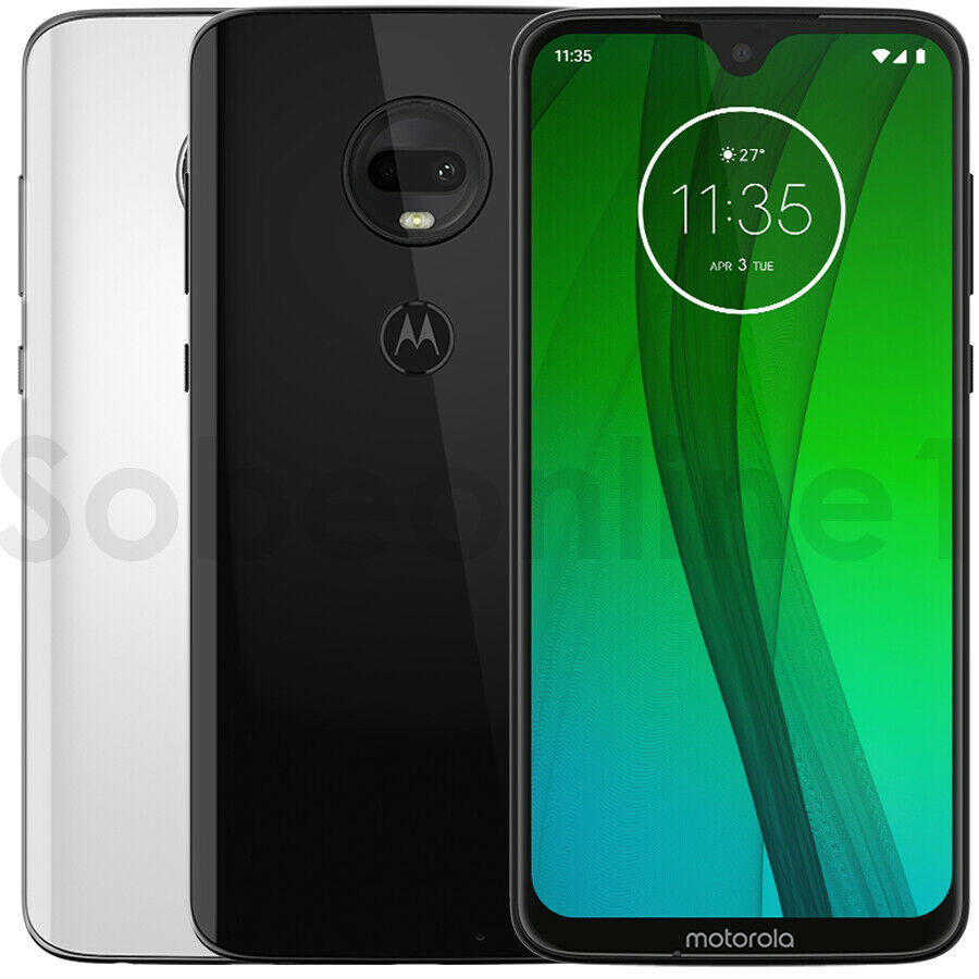 "Android Phone - MOTOROLA MOTO G7 XT1962 64GB 4GB Ram Dual Sim ( Factory Unlocked) 12MP 6.2"""