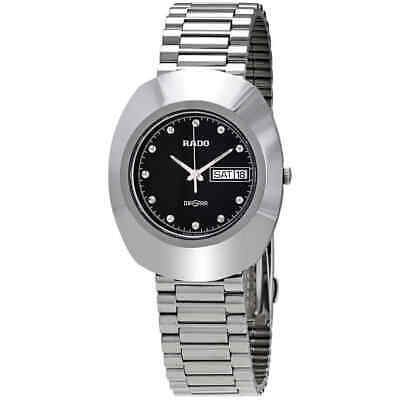 Rado Diastar Black Dial Stainless Steel Men's Watch R12391153