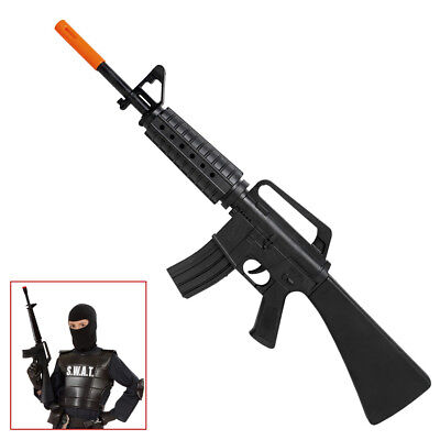 M16 SPIELZEUGGEWEHR Karneval Gewehr Waffe Soldaten Armee SWAT Kostüm Party 7084