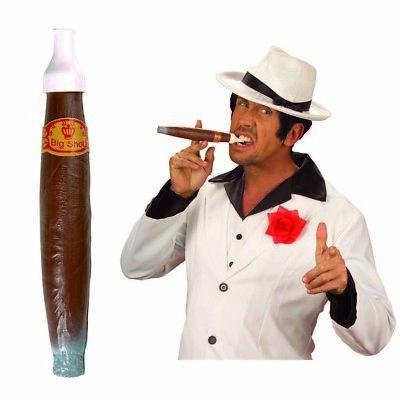 XL JUMBO FAKE ZIGARRE Karneval Havana Gangster Millionär - Mafia Kostüm Party
