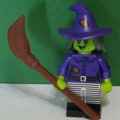 Lego Minifigure - WACKY WITCH - Series 14 - COL214 - HAPPY HALLOWEEN