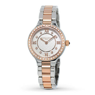 Frederique Constant Women's FC-200WHD1ERD32B Quartz Two-Tone Bracelet 27mm Watch