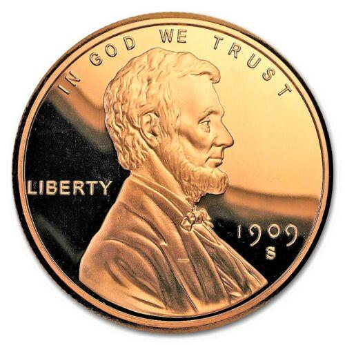 5 Ounce .999 Fine Copper Round - Lincoln Wheat Cent