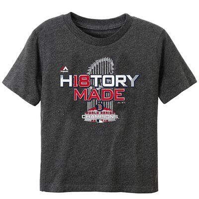 NEW  BOSTON RED SOX  Toddler  2018 World Series Champions T-Shirt