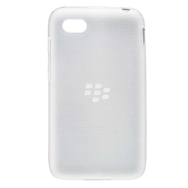 Genuine BlackBerry Q5 Soft Shell Case Cover Clear - ACC-54693-202