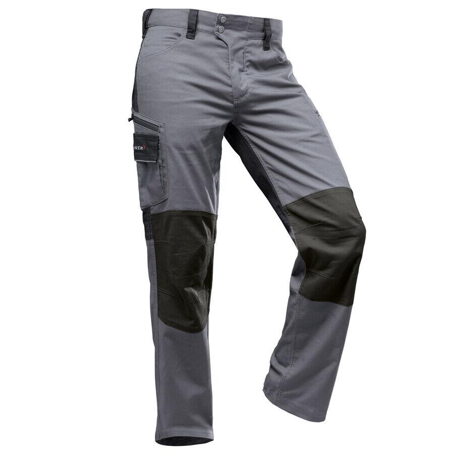 PFANNER StretchFlex Canfull Arbeitshose grau schwarz Hose Stretch Arbeit Bau