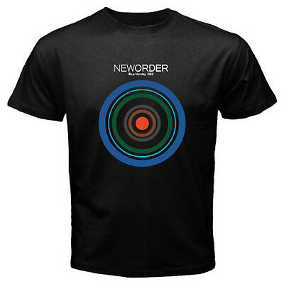 New Order Blue Monday 1988 Rock Band Mens Black T Shirt Size S 3Xl 100  Cotton