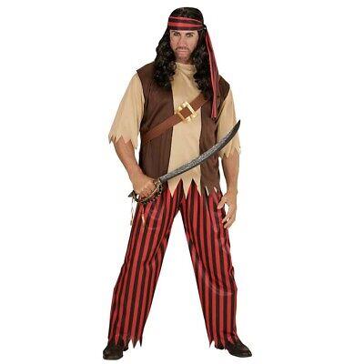 HERREN PIRATENKOSTÜM Karneval Fasching Karibik Piraten Kostüm Seeräuber (Karibik Piraten Kostüm Herren)