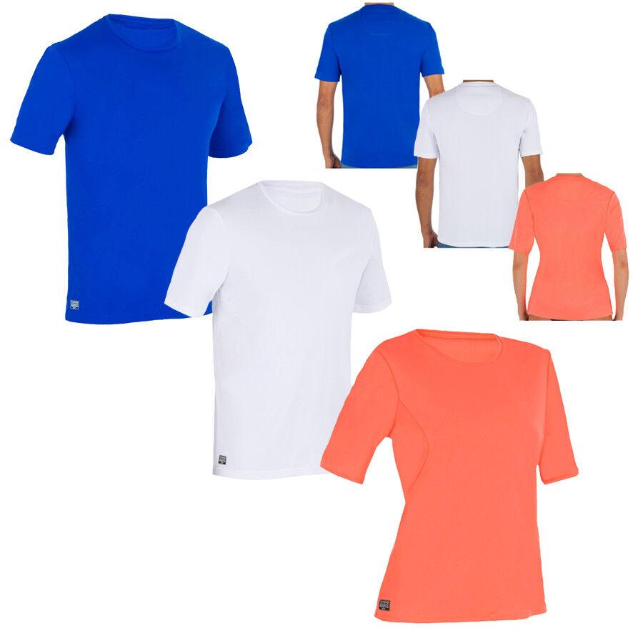 UV-Shirt UV-Schutz 50+ T-Shirt Badeshirt Schwimmshirt Sonnenschutz Damen  Herren 7290e9a7bb