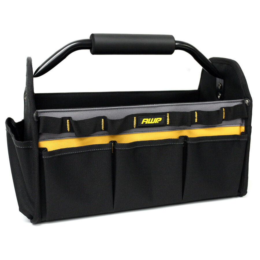 AWP Polyester Multiple Pouch Tote Pockets & Tool Loops Heavy