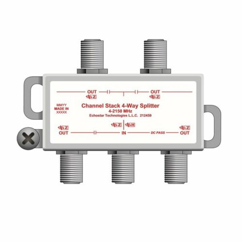 DISH Network 4-Way Stackable Splitter for DPH42 Switch