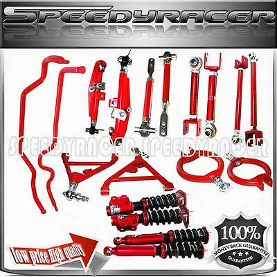 fits 89-94 240SX S13 Suspension Combo Camber Kits Control Arm Sway Bar Coilover