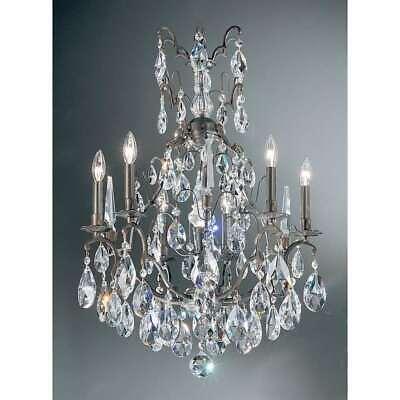 Antique Bronze Classic Crystal - Classic Lighting Versailles Crystal Chandelier, Antique Bronze - 9007ABC
