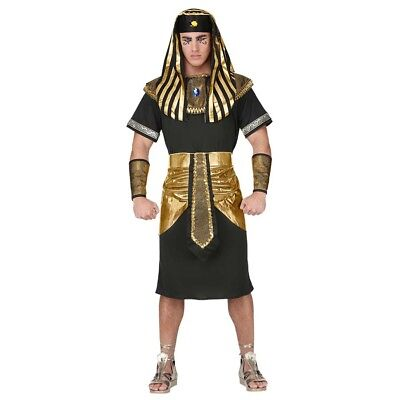DELUXE PHARAO HERREN KOSTÜM Karneval Ägypter Ramses Tutanchamun König Gott (Ägypten Pharaonen Kostüm)