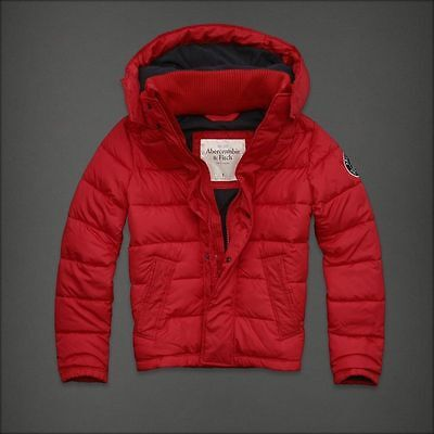 NWT  Abercrombie & Fitch Palmer Brook Puffer Jacket men's jacket size XL SAVE!!