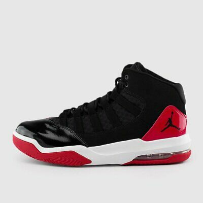 AIR JORDAN MENS MAX AURA AQ9084-006 BRED BLACK RED WHITE RETRO ALL SIZES 8-14  (All Red Jordans)