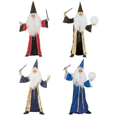 ÜM # Karneval Kinder Jungen Magier Märchen Verkleidung 3727 (Jungen Märchen Kostüm)
