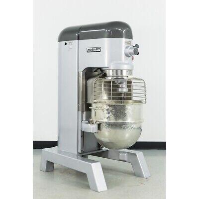 Used Hobart H-600t 60 Qt. 2 Hp Dough Mixer Wbowl Guard