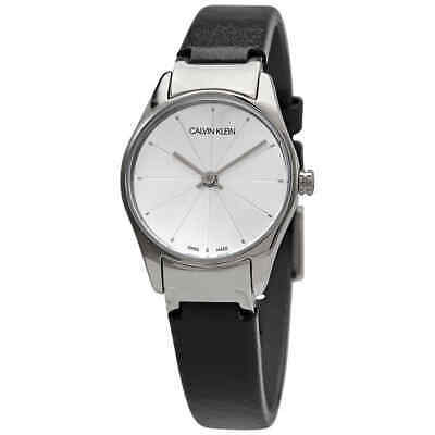Calvin Klein Classic Quartz Silver Dial Ladies Watch K4D231C6