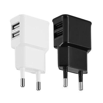 2 Port USB Netzteil Ladegerät Adapter EU Plug 5V 2A für iPhone Samsung Universal (I Phone 5 Usb-adapter)