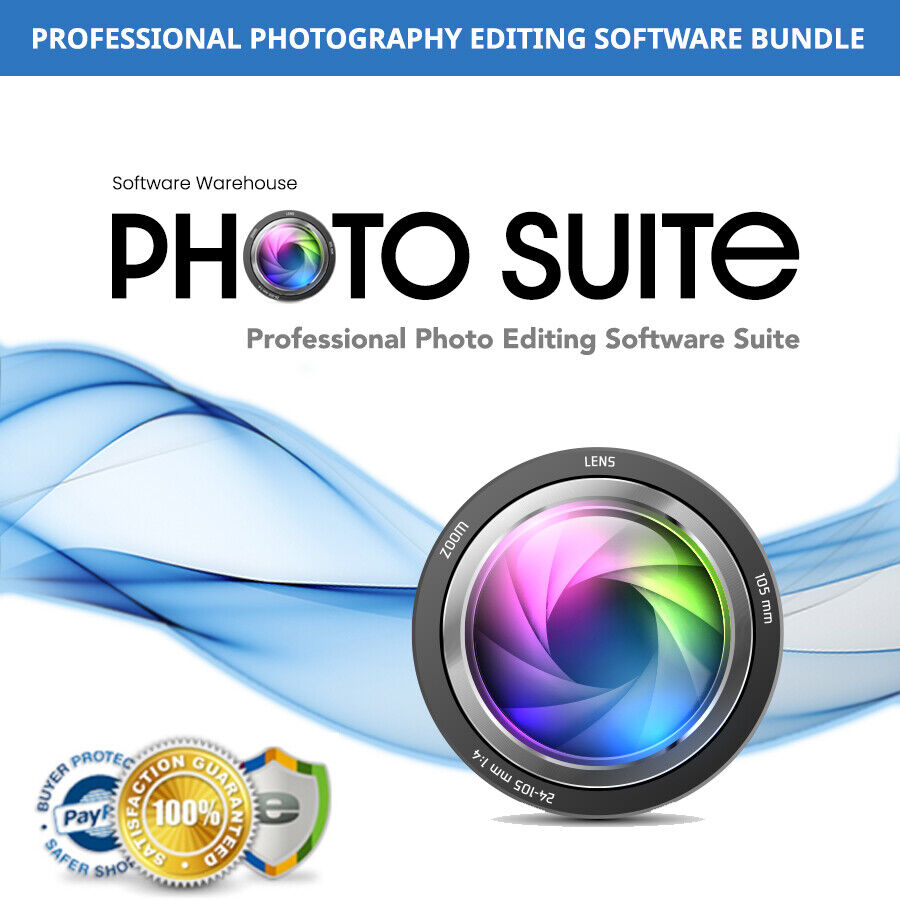 Photo Suite - Professional Photography Editing Software Suite for Windows + Mac
