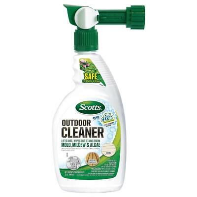 Scotts, Outdoor Cleaner Plus Oxi Clean, Moss, Mold, Algae, Ready to Use 32 oz