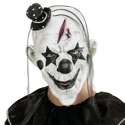 KILLER CLOWN MASKE # Halloween Karneval Horror Herren - Killer Clown Maske Kostüme